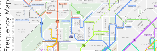 current route of the #41