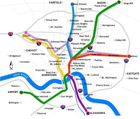 houston metro rail expansion with Cincinnati Light Rail on Train Simulator Route Proposal Rtd likewise San Diego Plans Extension To Its Trolley  work Mostly Skipping Over Inner City further Paris also L1 p5 moreover Cincinnati Light Rail.