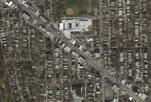 Aerial photo of chicago