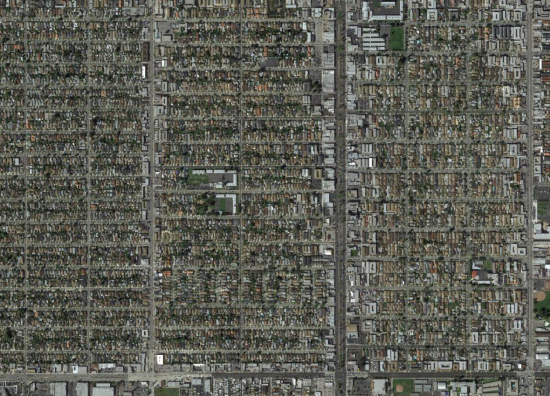 Los Angeles business district development