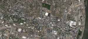 Aerial photo of St. Louis
