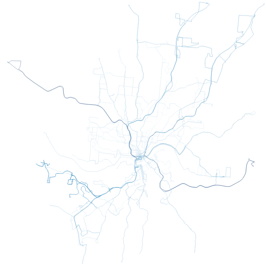 map of cincinnati transit