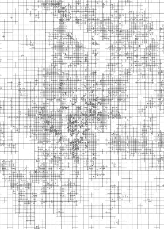population density cincinnati quadgrid